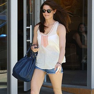 Ashley Greene Sporting Short Shorts in LA