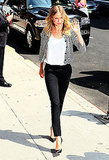 Cameron Diaz Gives Bad Teacher a Leg Up at the Late Show