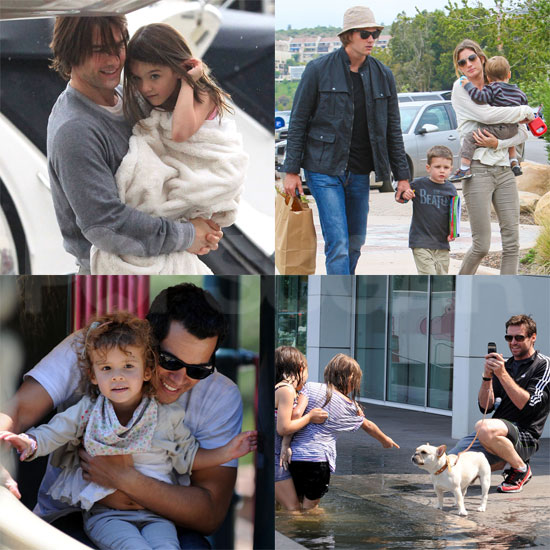 Tom Cruise, Hugh Jackman, Tom Brady, and More: See How Stars Celebrated Father's Day!