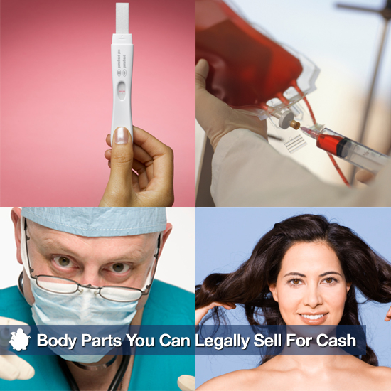 Body Parts You Can Legally Sell For Cash