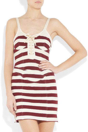The lace-up detailing adds extra oomph to this nautical rendition. Isabel Marant Stripe Dress ($168, originally $420)