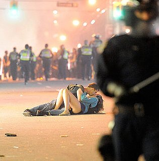 Interview With Couple Kissing at Vancouver Riot