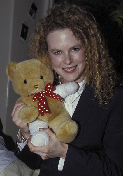 January 1991: Visiting Alexander Children's Hospital