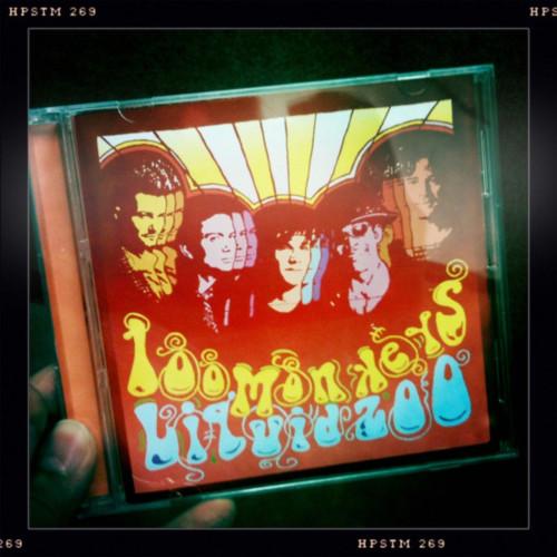 Portada del cd de Jackson y sus monitos Liquid Zoo!