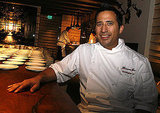 Before the first course arrived, chef Chris Lee came up and discussed the menu. The award-winning chef made his name at fine dining establishments like Philadelphia's Striped Bass and New York's Aureole. However, his upcoming eatery, Huntington Social House, will feature more casual gastropub-speakeasy fare, so this is what he cooked on Friday night.
