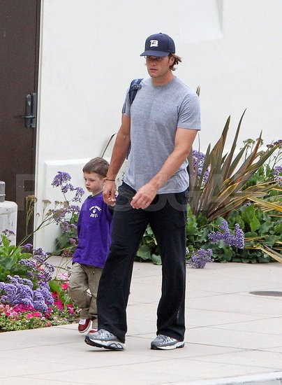 Tom Brady Celebrates the Start of Summer With His Son Jack!