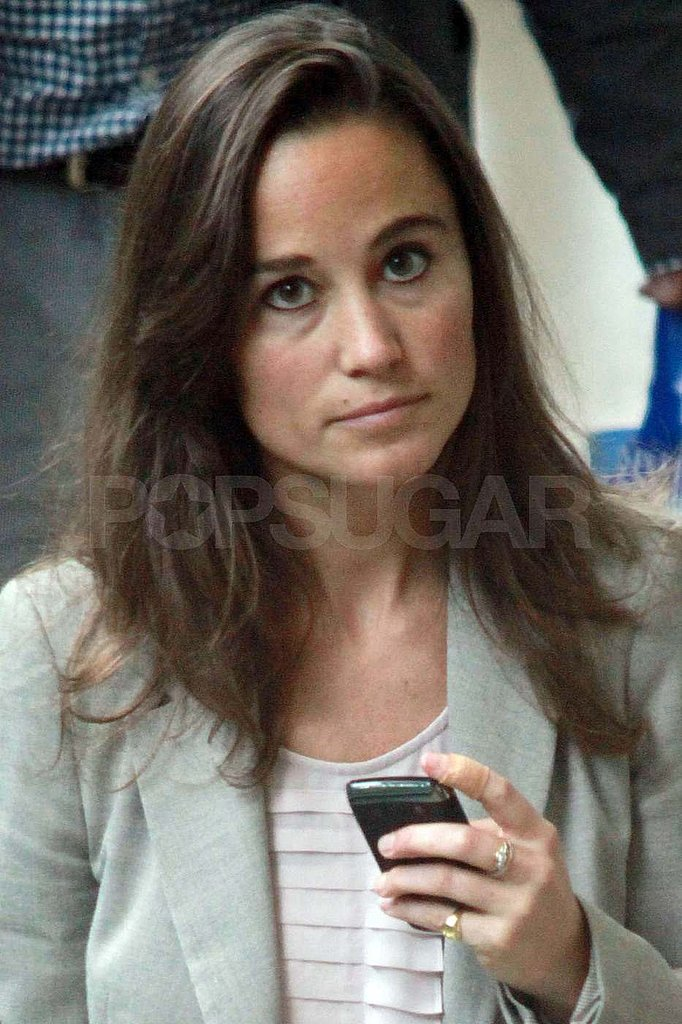 Pippa Middleton Returns to London Following Her Impressive Duathlon Finish