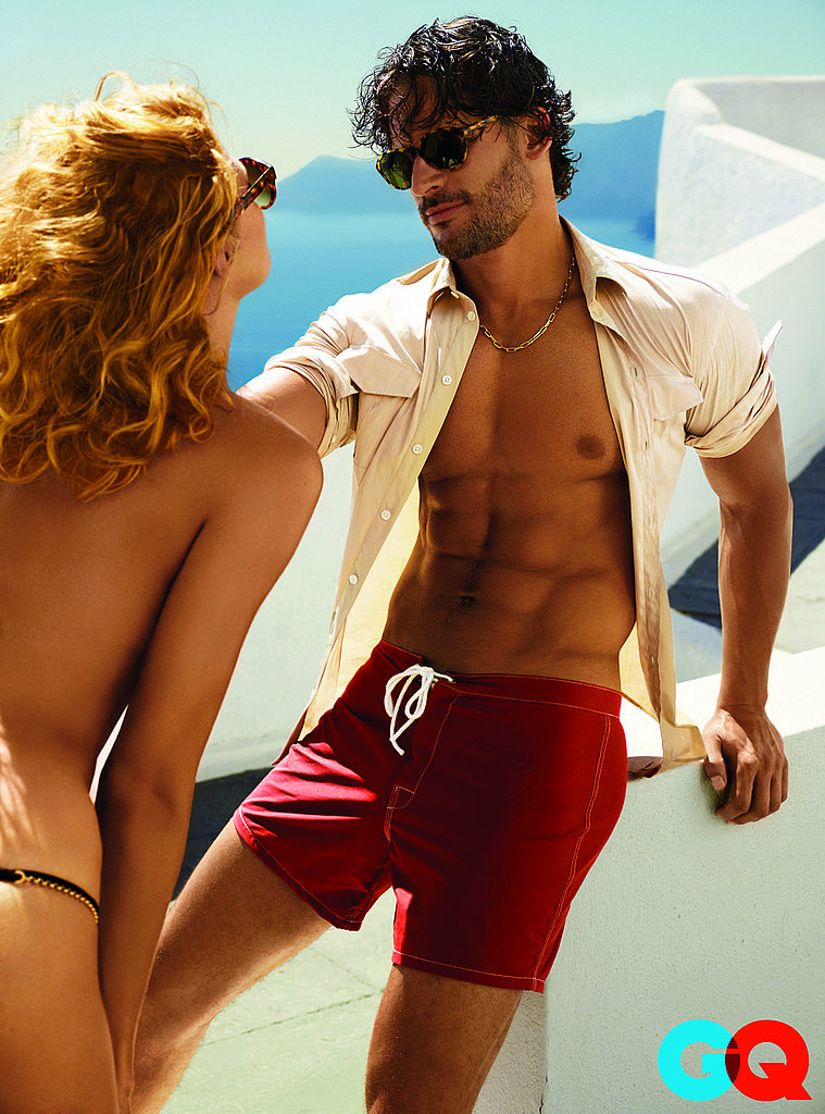 True Blood's Joe Manganiello Shows Off Hot Six-Pack in GQ