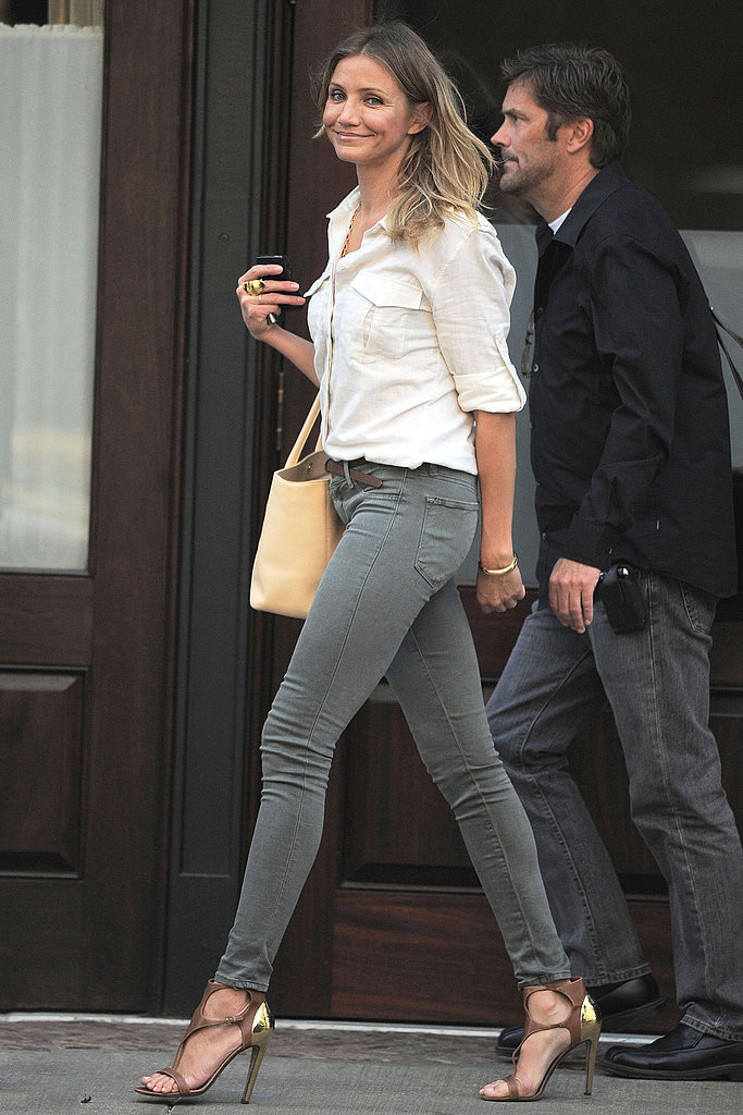 """Cameron Diaz Says She Loves ARod """"Too Much"""" to Not Share Her Food With Him"""
