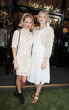 Sienna Miller posed with sister Savannah Miller at Ralph Lauren's Wimbledon party.