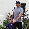Tom Brady Pictures Dropping Son Jack Moynahan Off at Camp