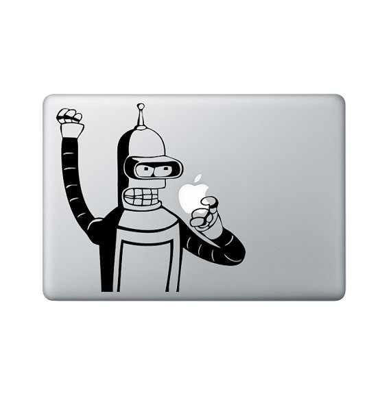 Bender MacBook Sticker ($9)