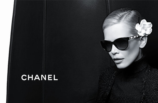 See Chanel's Fall 2011 Eyewear Campaign, Modeled by Claudia Schiffer