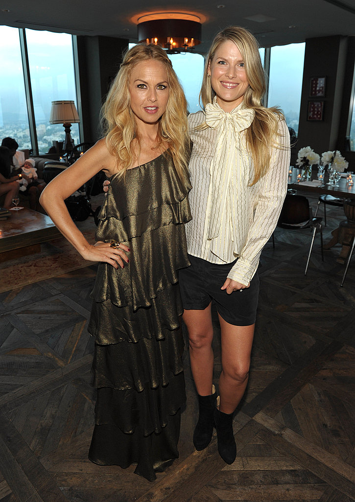 Rachel Zoe and Ali Larter celebrated Rachel's collection.