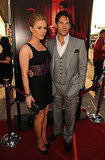 Anna Paquin and Stephen Moyer showed off their married-couple glow on the True Blood red carpet.