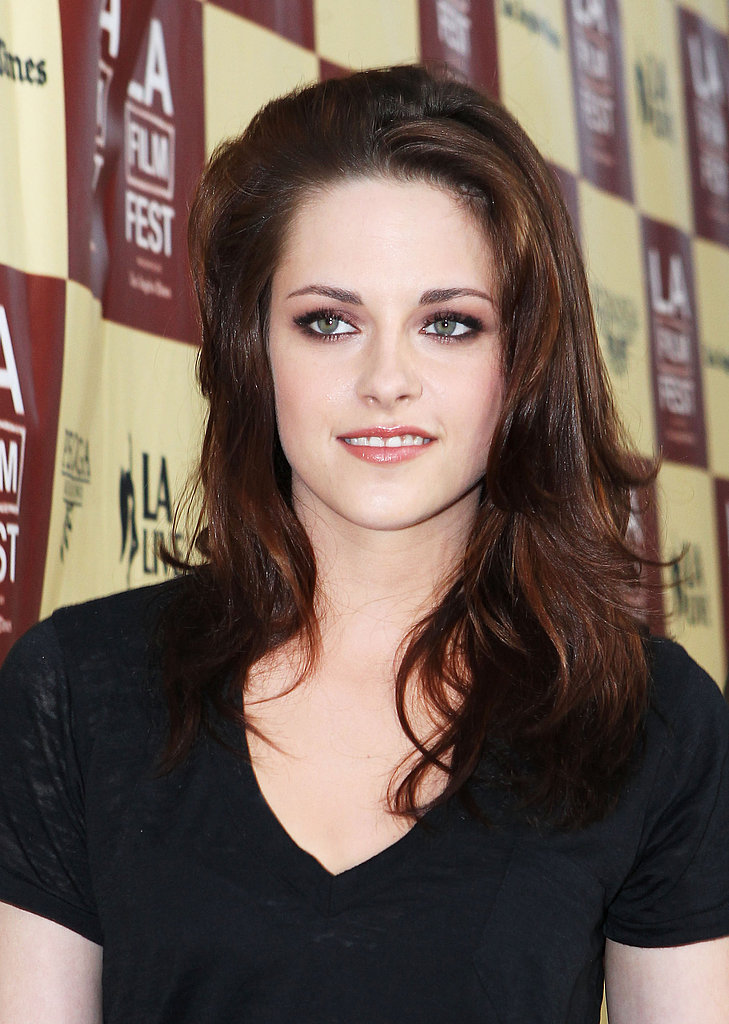 Kristen Stewart hit the red carpet at the LA Film Festival.