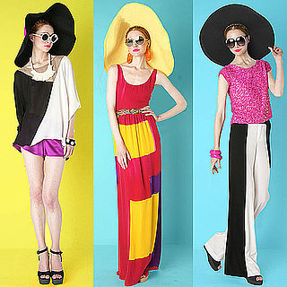 Alice & Olivia Resort 2012 Look Book: We Heart the Bright and Bold Colour Blocked Collection from Stacey Bendet