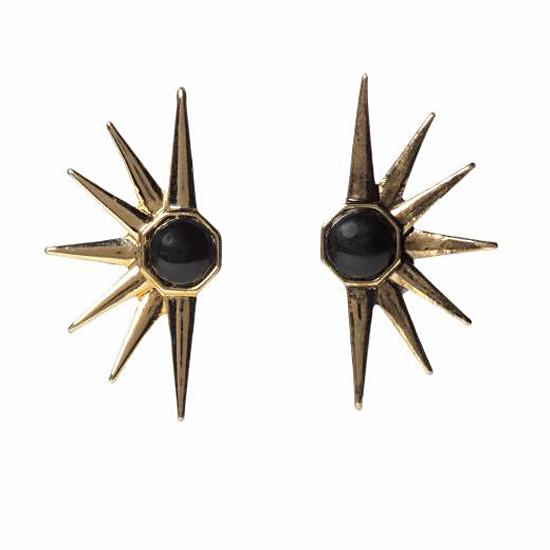 House of Harlow 1960 Star Earrings, $45