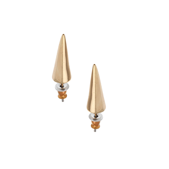 Topshop Metal Spike Earrings, $12