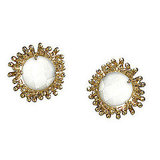 Kendra Scott I Do Carly Botanical Stud Earrings, $55