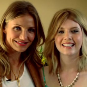 Cameron Diaz Bad Teacher Video Interview