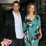 Jessica Alba and Cash Warren went to sushi.