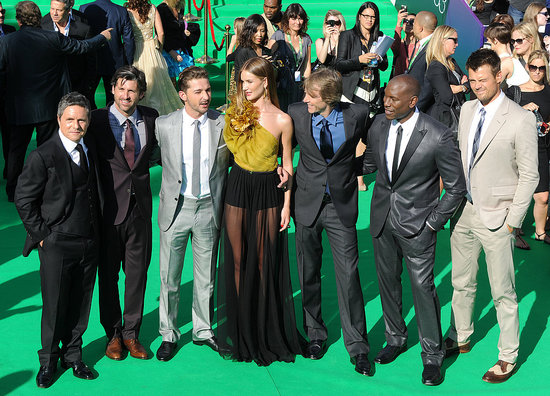 Shia LaBeouf and the Transformers Cast Kick Off Their Premieres in Russia