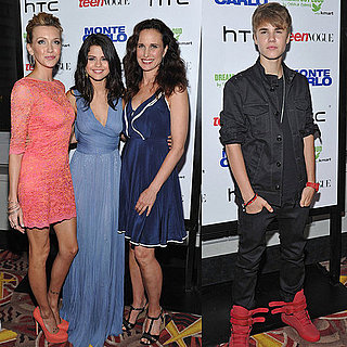 Selena Gomez and Justin Bieber Pictures at Monte Carlo Premiere