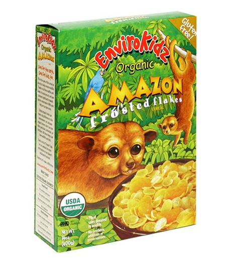 EnviroKidz Organic Amazon Frosted Flakes Cereal