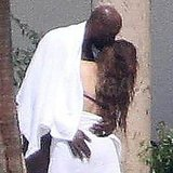 Khloe Kardashian and Lamar Odom stripped down in Mexico.