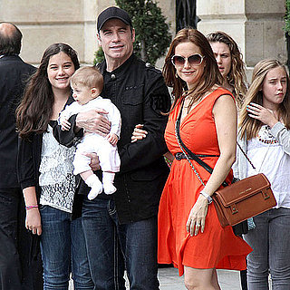 John Travolta and Kelly Preston Pictures With Son Benjamin Travolta