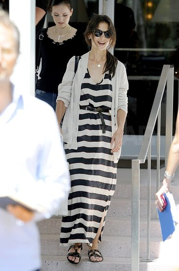 Katie Holmes Returns to Miami Following a Girls Trip With Suri