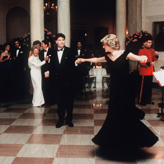 Princess Diana's John Travolta Dancing Dress Sold For $800,000