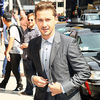 Shia LaBeouf Arriving to Late Night With David Letterman