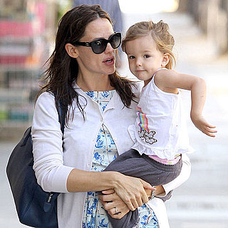 Jennifer Garner Carrying Seraphina Affleck in Santa Monica