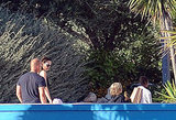 Brad Pitt and Angelina Jolie took the kids to a water park in Malta.