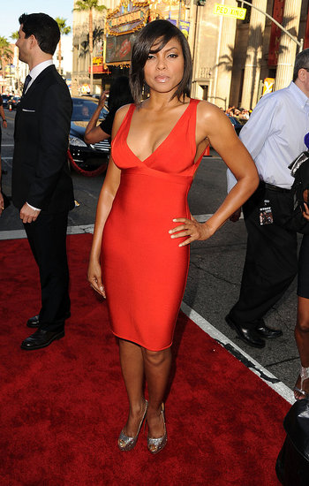 Taraji P. Henson at the LA premiere of Larry Crowne.