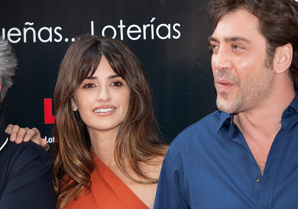 Penelope Cruz smiled for photos.