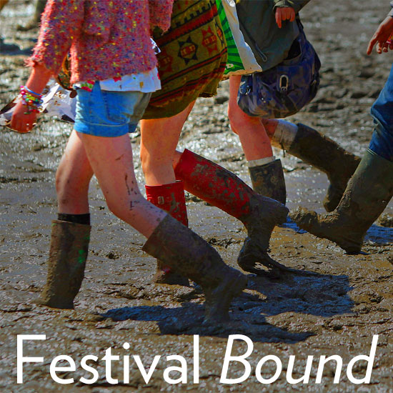 Glastonbury Music Festival 2011: Wellies Win!