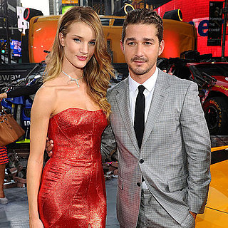 Shia LaBeouf and Rosie Huntington-Whiteley at Transformers 3 Premiere 2011-06-28 17:10:08