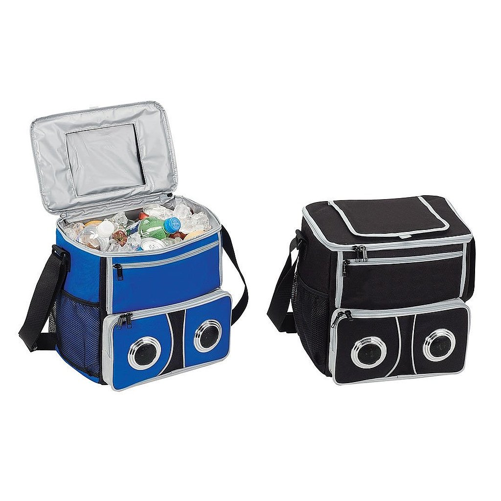 A Cooler With Speakers