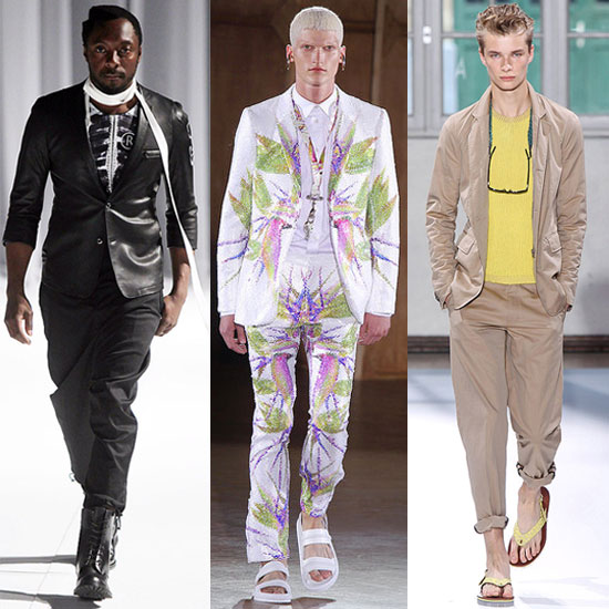 The Men Take Over Paris Fashion Week