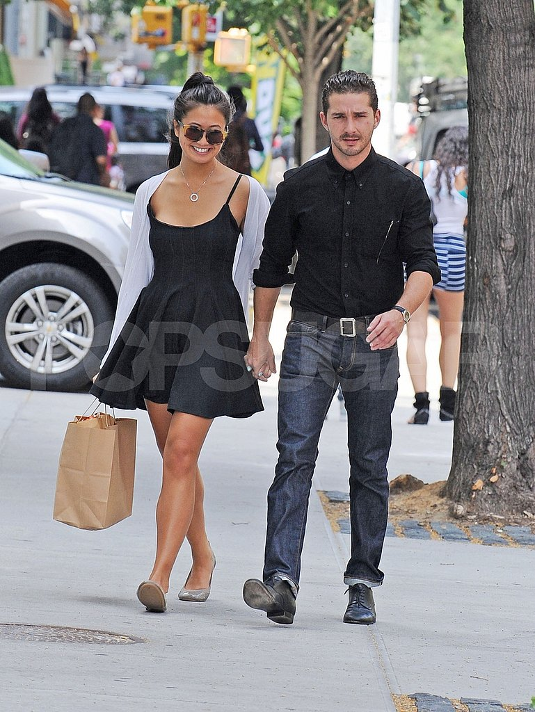 Karolyn Pho held onto Shia LaBeouf's hand in NYC.