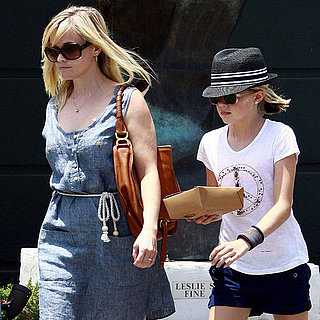 Reese Witherspoon and Ava Phillippe at Lunch in Brentwood