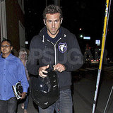Ryan Reynolds leaving the Troubadour in LA.