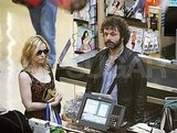 Rachel McAdams and Michael Sheen at Whole Foods.