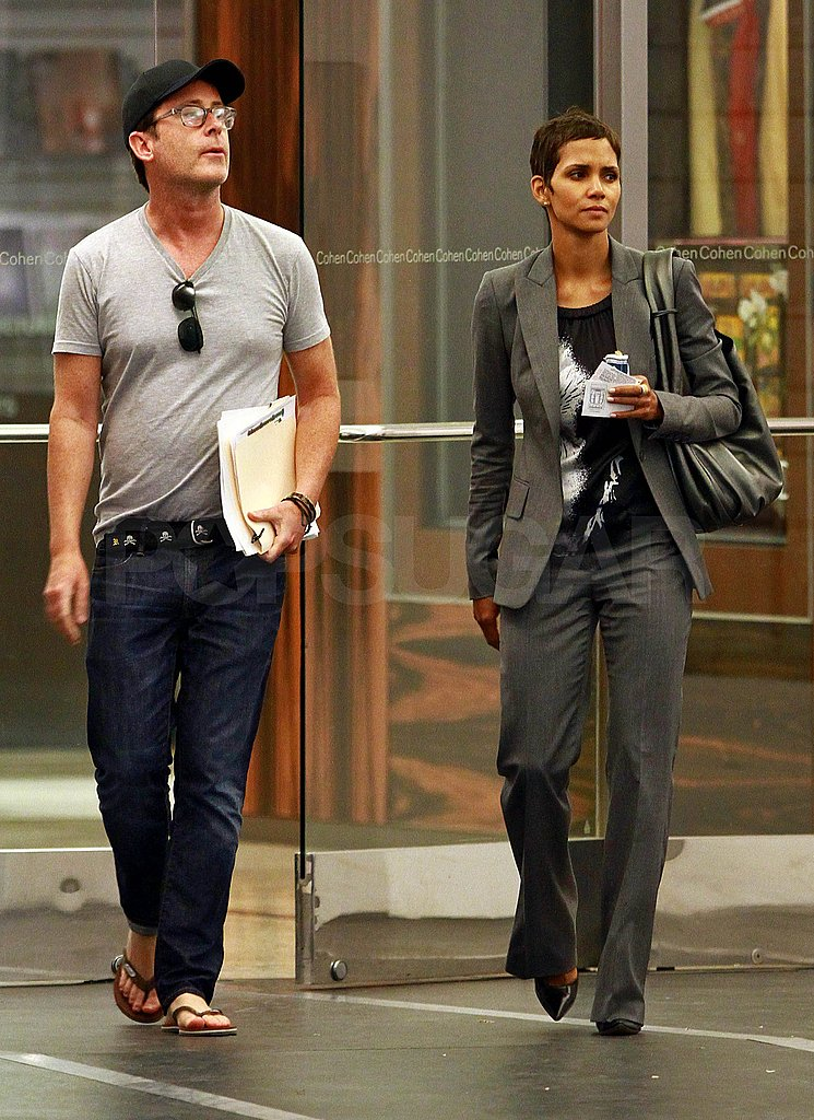 Halle Berry visited the LA Design Center.