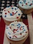 Red, White, and Blue Cupcakes From Billy&#039;s Bakery