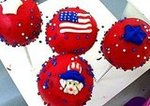 Patriotic Cake Pops From New York Cake Pops