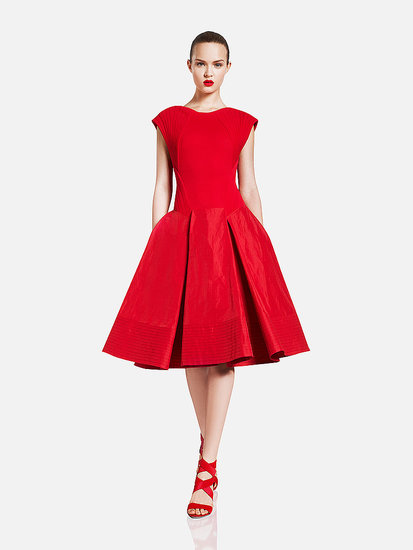 LITTLE RED DRESS Donna Karan   see all Donna Karan Resort 2012